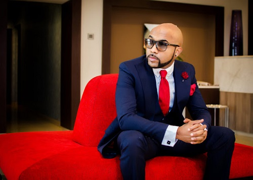 See Photos Of Banky W's Lekki Mansion With His Initial 'W' Engraved In The Swimming Pool