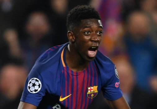 PSG To Raid Barcelona For Dembele