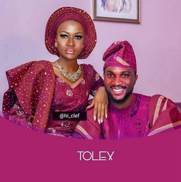BBNaija: 'Pre-wedding Photo' Of Tobi And Alex Surfaces