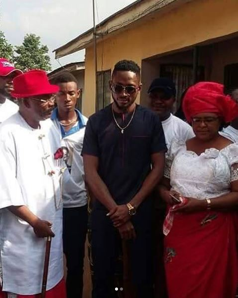 BBNaija: Miracle Honoured In His Village In Imo State (Photos)