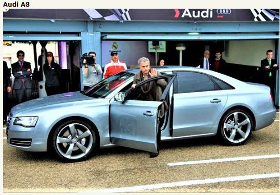 Check Out Jose Mourinho's Amazing Car Collection (Photos)