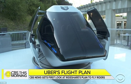 Uber Releases Photos Of Its 'Electric Flying Taxis' That Will Transport Passengers Above Congested Cities