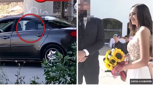 Unbelievable: Bride Catches Fiance Cheating With Her Bridesmaid Just Before Their Church Wedding