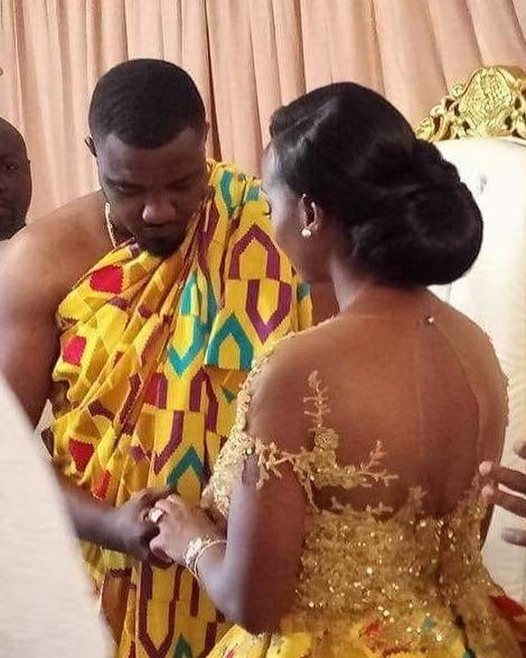 Photos And Video From Actor John Dumelo's Wedding To His Beautiful Wife