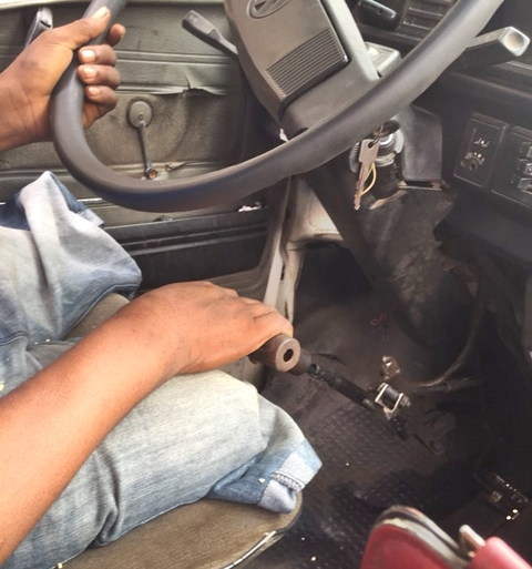 Image result for LADY SHOCKED TO SEE A BUS DRIVER THAT HAS NO LEGS DRIVING DANFO IN LAGOS