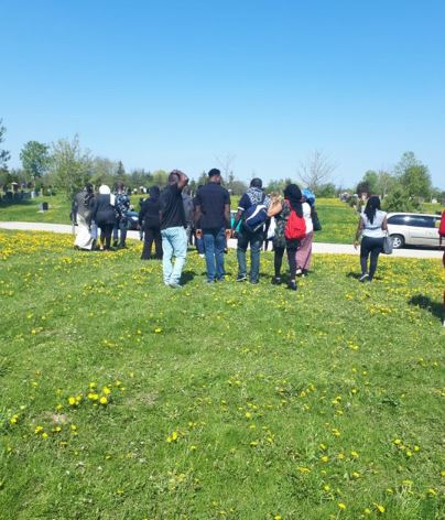 Photos From The Burial Of Nollywood Star, Aisha Abimbola In Canada