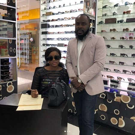 Cee-C Signs Endorsement Deal With House Of Lunettes (Photos)