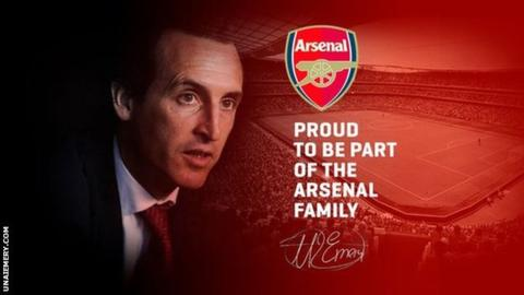 Arsenal Announces Unai Emery As New Coach After Wenger's Exit