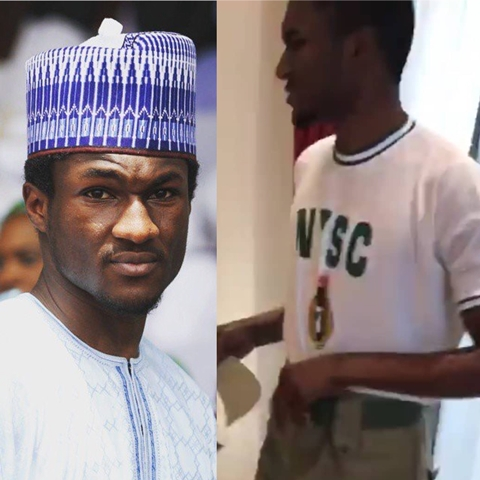 President Buhari's Son, Yusuf Enrols For NYSC In Abuja (Photos)