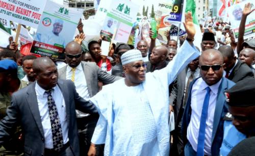 Atiku Under Fire For Holding Strategy Session With '400-Man Campaign Team' In Dubai