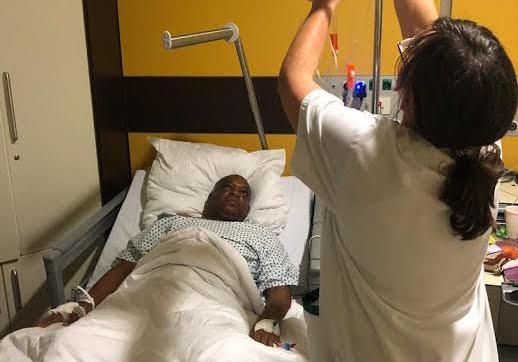 Orji Kalu Undergoes Major Surgery In Germany