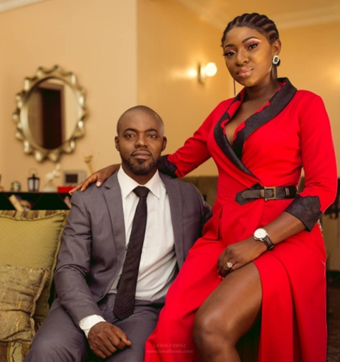 Nollywood Actress, Yvonne Jegede And Husband Welcome Their First Child (Photos)