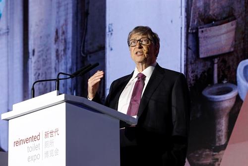 Bill Gates Unveils Futuristic Toilet That Turns Human Waste To Fertilizer