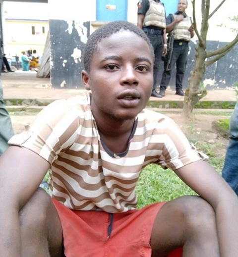 that he killed his mother and slept with her corpse for the purpose of money ritual.