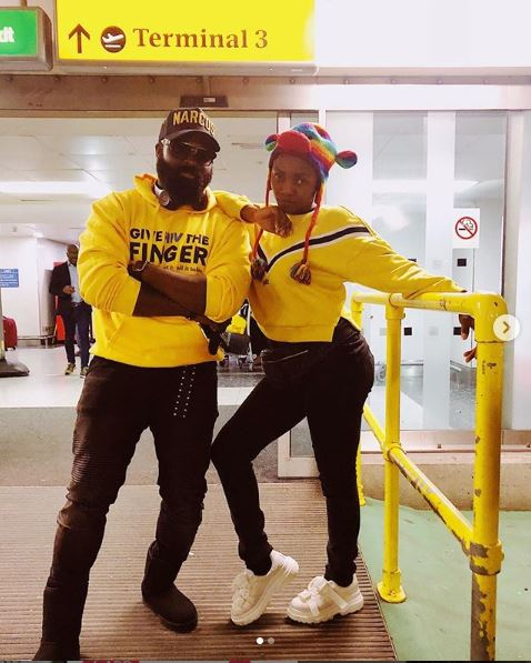 Popular Nigerian singer, Simi, has stormed London for her concert