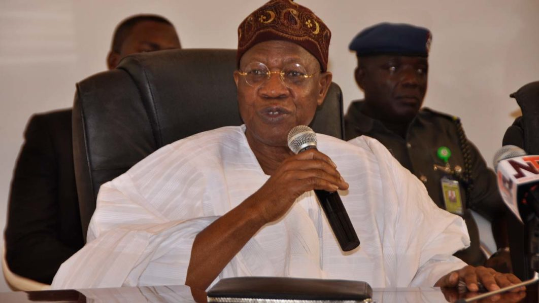 Nigerians React To Lai Mohammed's Claim That N3.5m Is Spent Monthly To Feed El-Zakzaky