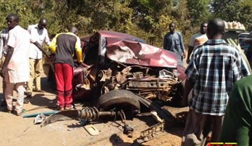 15 Injured In Fatal Accident Involving Buses At Abuja-Kaduna Expressway (Photos)