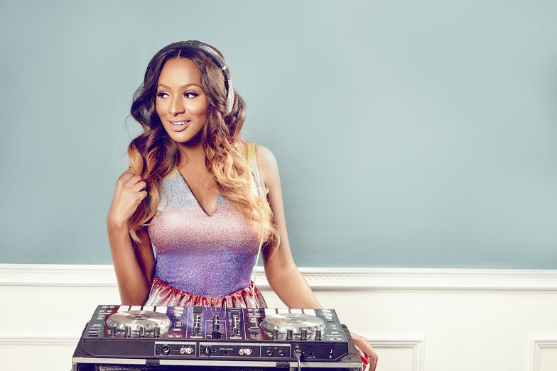 DJ Cuppy's Billionaire Dad And Her Mum Paint Portraits Of Her On Her Birthday