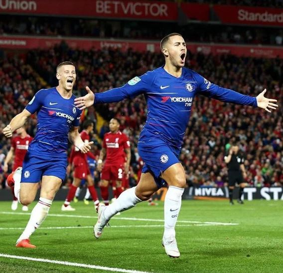 Hazard Reveals The Player Who Convinced Him To Join Chelsea