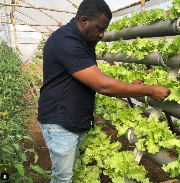 John Dumelo Shows Off His Farm, Reveals His Love For Agriculture (Photos)