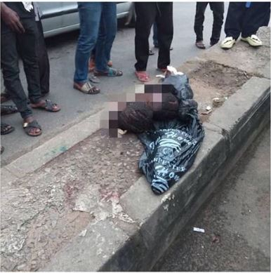 Residents In Shock As Two Human Heads Are Discovered On The Road In Rivers State (Photo)