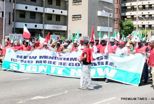 Nigerian Students, NLC, Embark On Massive Protest In Abuja