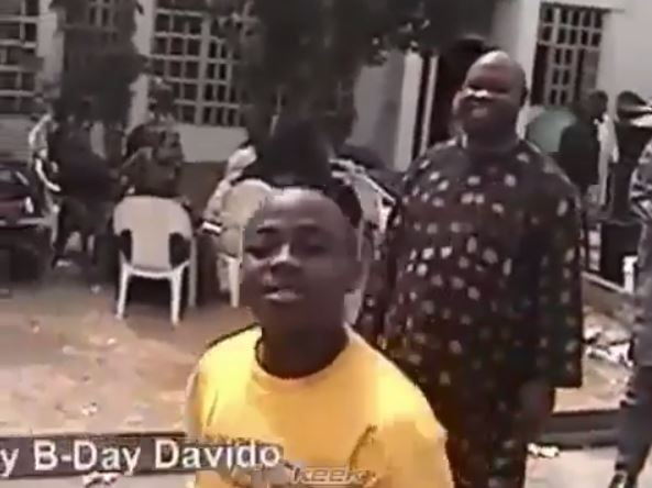 Epic Throwback Video Of Davido As A Little Boy Gets Fans Talking (Photos)