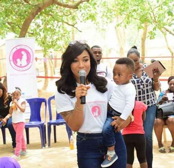 'll Never Allow My Son Call Anyone Who Isn't Family Uncle Or Aunty – Actress Tonto Dikeh