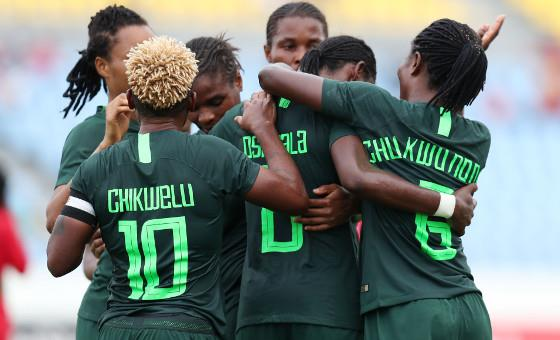 AWCON 2018: Oshoala Bags Hat-trick As Ruthless Falcons Demolish Equatorial Guinea In A 6-0 Victory