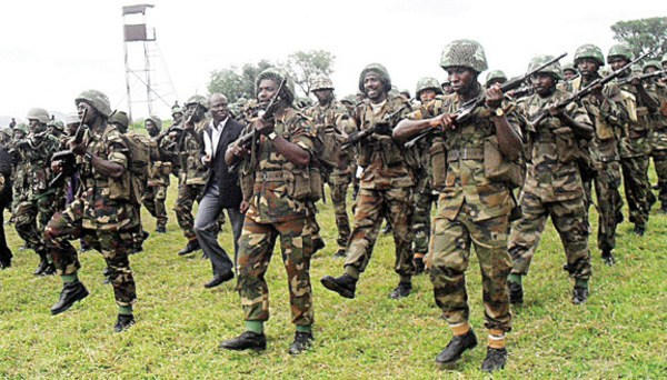 Nigerian Army Discover 100 Recruits Undergoing Military Training In Fake Militia Training Camp In Rivers