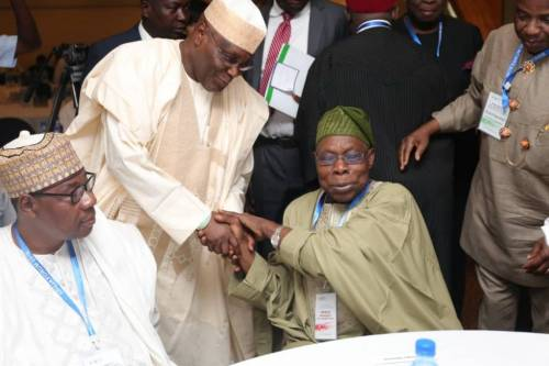 How Atiku Wooed Obasanjo Just Minutes After Becoming PDP's Presidential Candidate