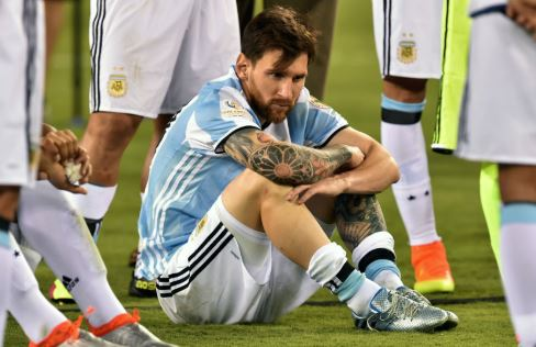 Lionel Messi Let Down By Argentina Traitors