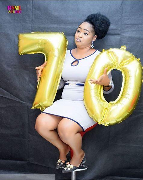 Meet The '70-Year Old' Nigerian Slay Queen As She Marks Birthday (Photos)