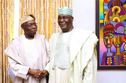 Obasanjo Lobbying US Authorities To Withdraw Atiku's US Visa Ban - APC Cries Out