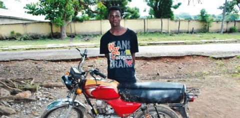 18-Year-Old Boy Who Stoled,To Impress His Girlfriend Arrested In Niger (Photo) 3