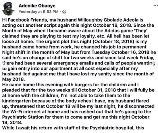 Image result for Nigerian lady held hostage by husband in Germany, raises alarm