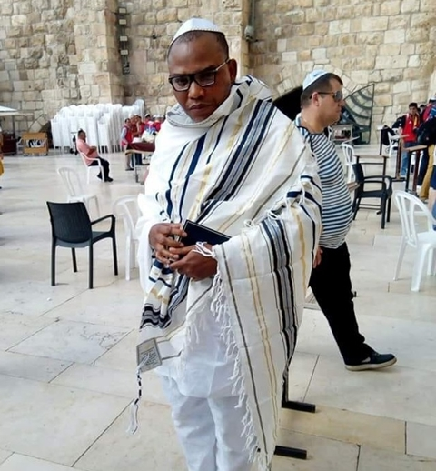 No Evidence Of Nnamdi Kanu's Appearance In Jerusalem - Isreali Govt.
