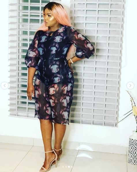Image result for Veteran Actress Omotola causes stir on instagram, rocks transparent dress in New photos