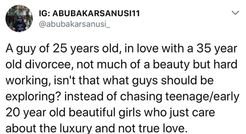 25 year old woman dating 19 year old man