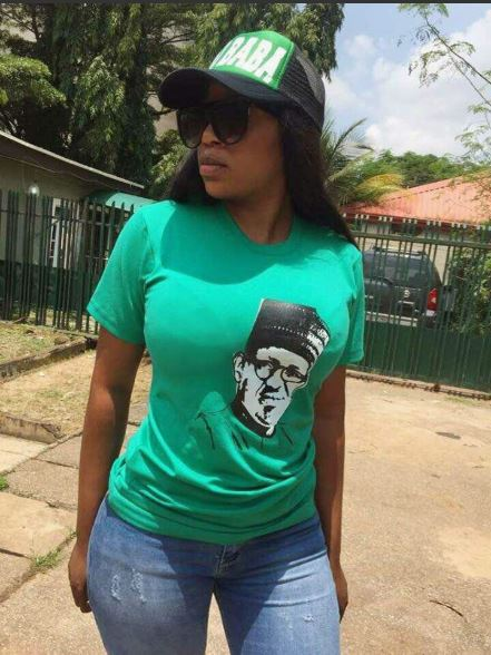 Photos: Slay Queens Campaigning For President Buhari