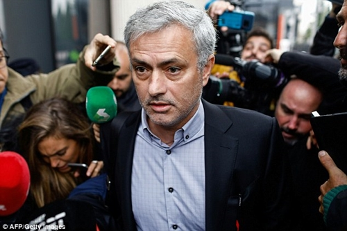 Manchester United Coach, Jose Mourinho Sentenced To One-year In Prison For Tax Fraud