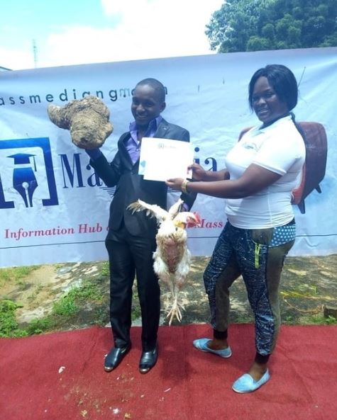Best Graduating Student Gets Yam Tuber, Live Chicken As Prize