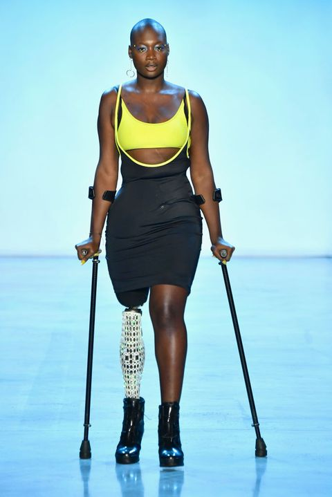 Meet 28 Year Old Amputee Model With One Leg Who Walked The