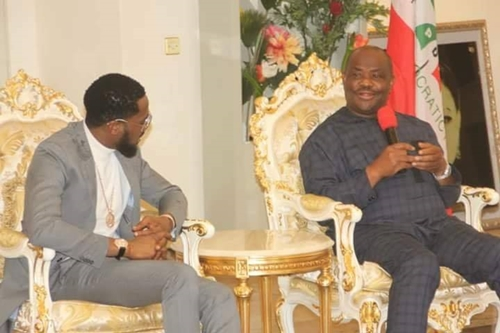 D'banj To Create Opportunities For Rivers Musicians - Gov. Wike