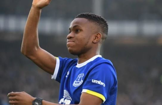 Everton Star Dumps England, Switches Allegiance To Nigeria As He Prepares To Play For Super Eagles
