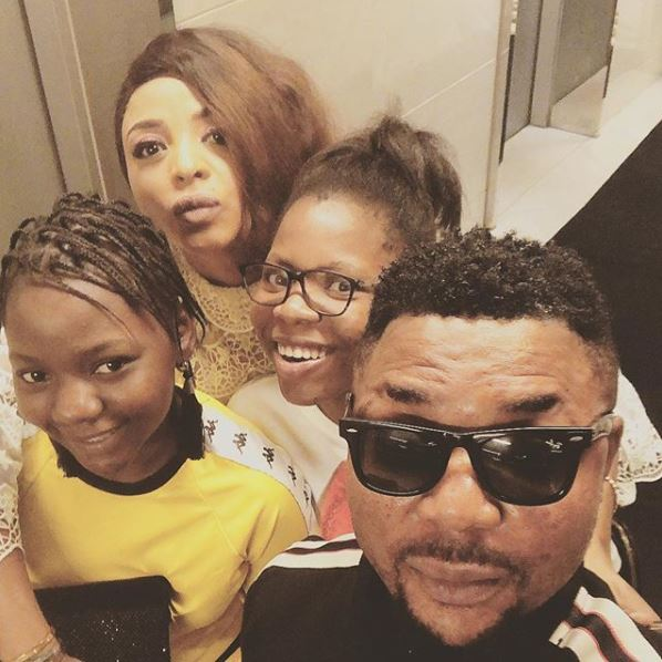 Family First: Popular Singer, Oritse Femi Shares Cute Family Photo With His Wife And Daughters