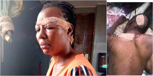 A policewoman who reportedly stabbed her husband