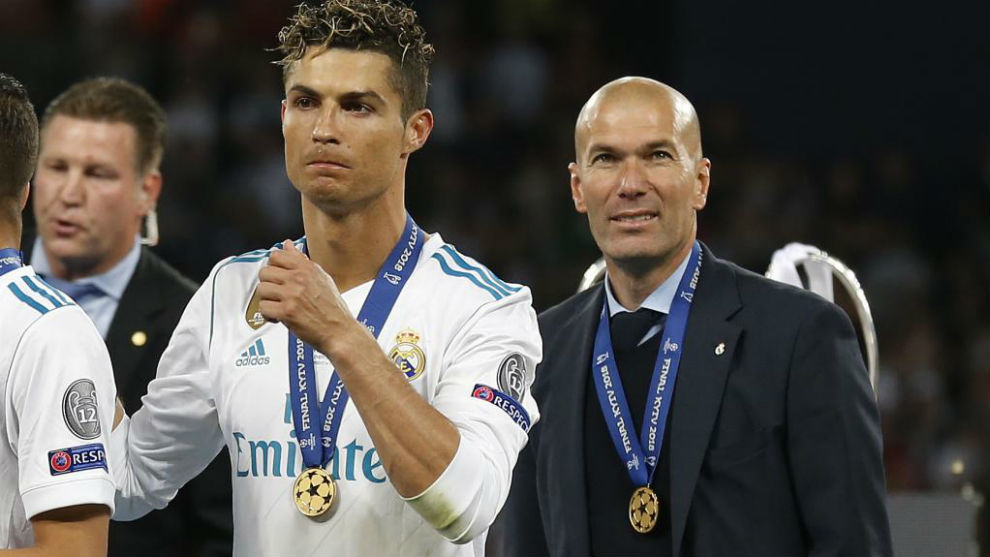 What Ronaldo Has To Say About Zidane Following His Return As Real Madrid Coach