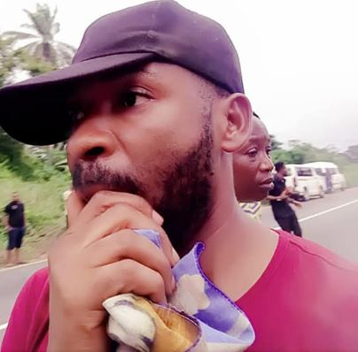 Nigerian Man Thanks God After Surviving Accident That Killed All Other Passengers (Photos)