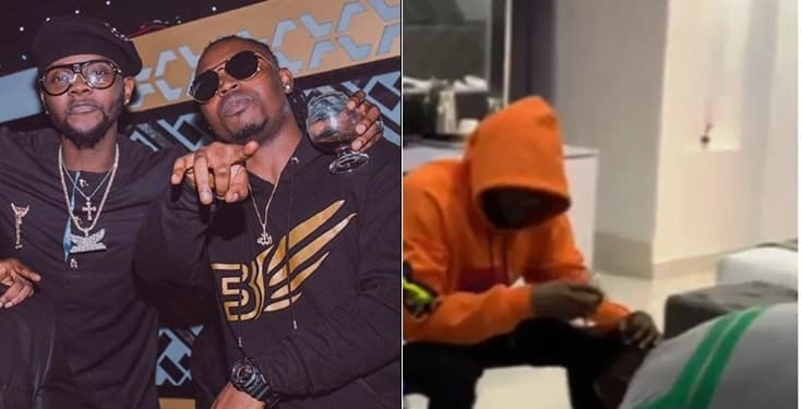 Demmie Vee Prostrates To Apologize To Kizz Daniel After Calling Him A 'Traitor